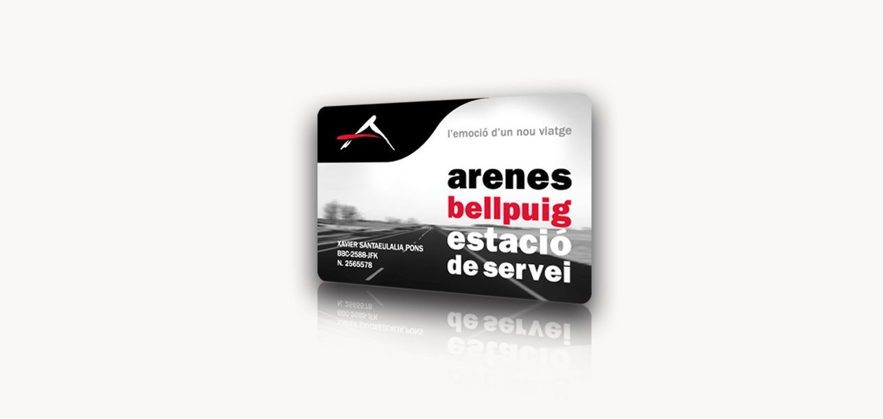 Targeta client Arenes Bellpuig